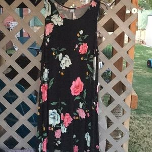 3/$15 NWT Old Navy floral black dress XL